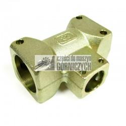 Trójnik gniazdowo-redukcyjny (zwężkowy) DN 38-12-38*
